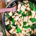 White Beans and Greens pasta