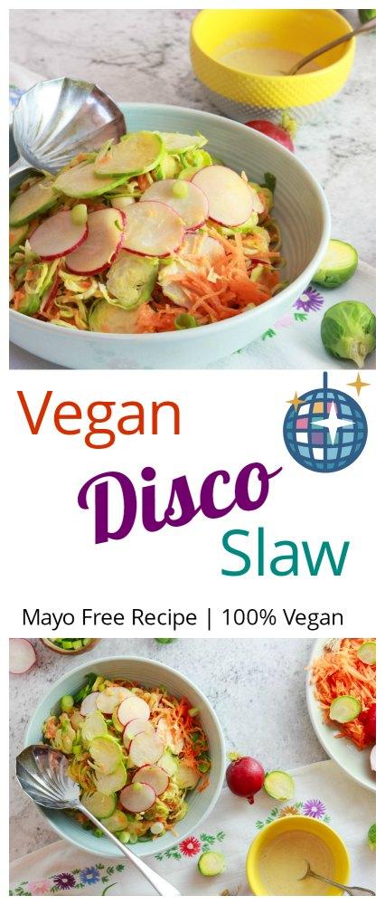 Vegan Disco Slaw Pinterest