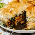 Butternut Squash and Chickpea Pie.
