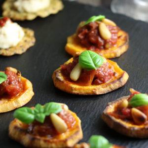Sweet Potato Canapes