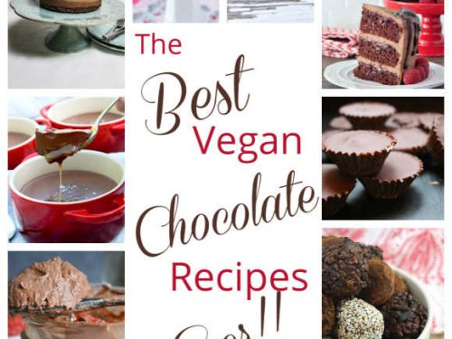 Best Vegan Choc Recipes montage