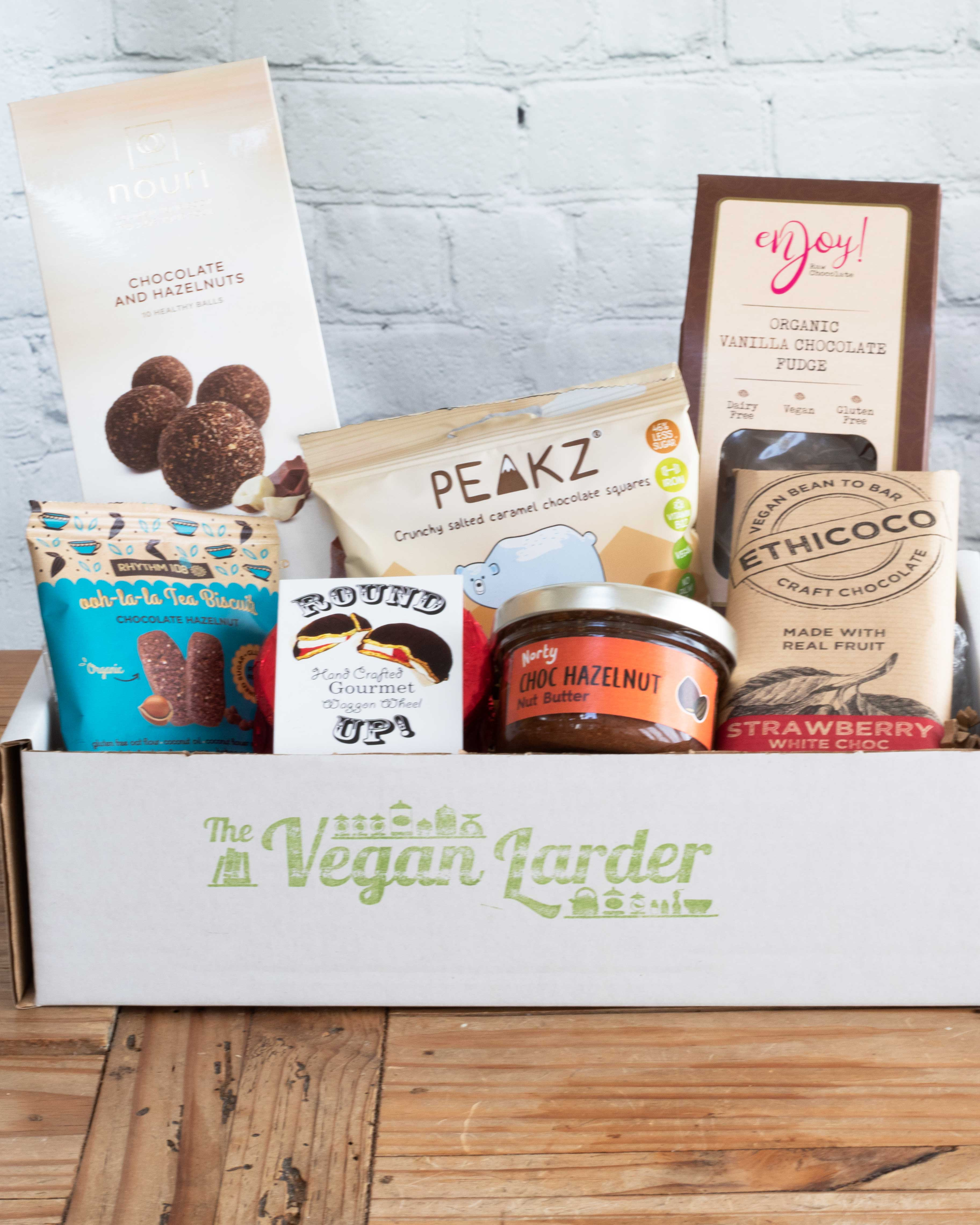 Chocolate Gift Box with delicious vegan chocolate