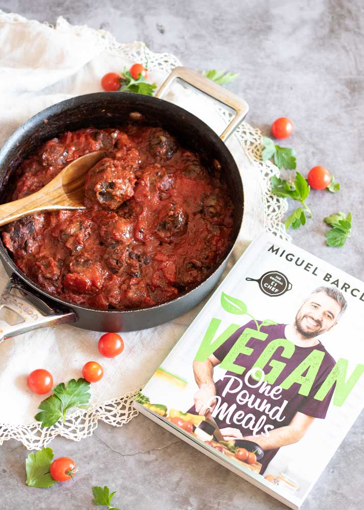 One Pound Vegan Balls with One Pound Vegan Cookbook
