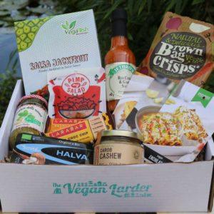 The Vegan Larder September 2019 box
