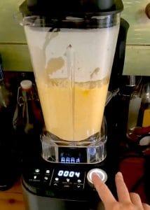 BLended Soup in the blender