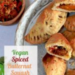 Vegan Butternut Squash Empanadas for pinterest