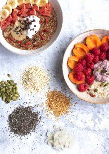 Vanessa's Breakfast Bowl with lots of ingredients