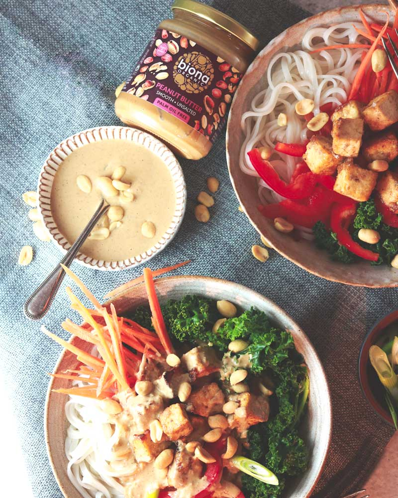 Super Satay Sauce with Biona nut butter