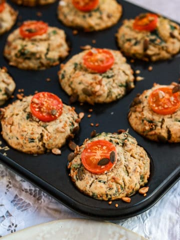 Vegan Savoury Muffins