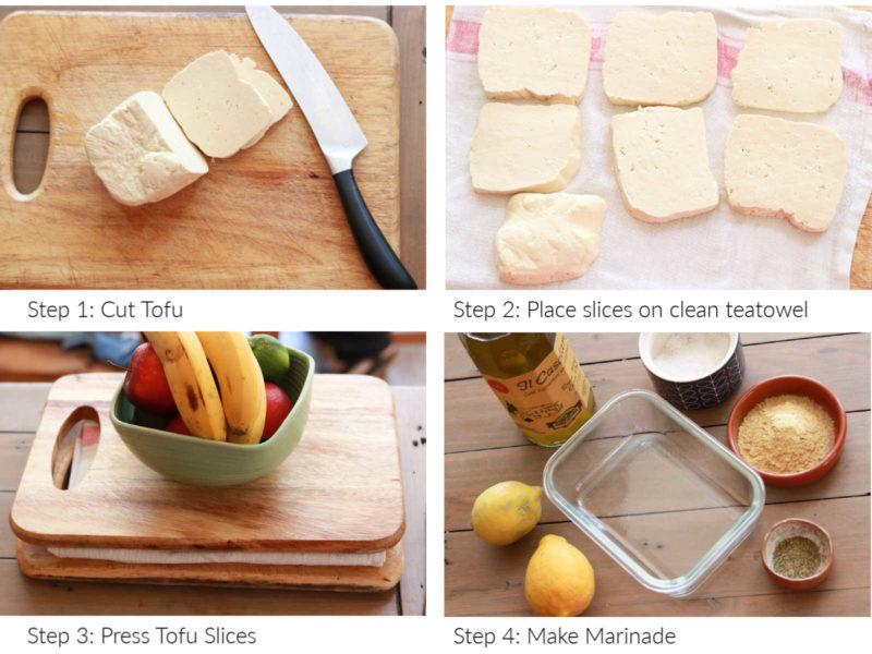 How to make Halloumi Tofu instructions