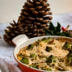 Vegan Cauliflower Cheese 'Christmas Trees'