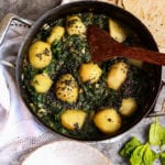 Vegan Spinach & Potato Curry (Saag Aloo)