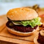 Amazing Beetroot & Lentil Burgers