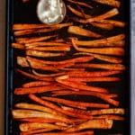 Oven Baked Parsnip & Carrot Fries