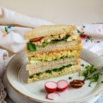 Vegan Tofu 'Egg' Salad Sandwiches - 3 Ways!