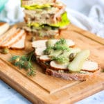 Scandi Inspired Smoked Tofu Sandwich