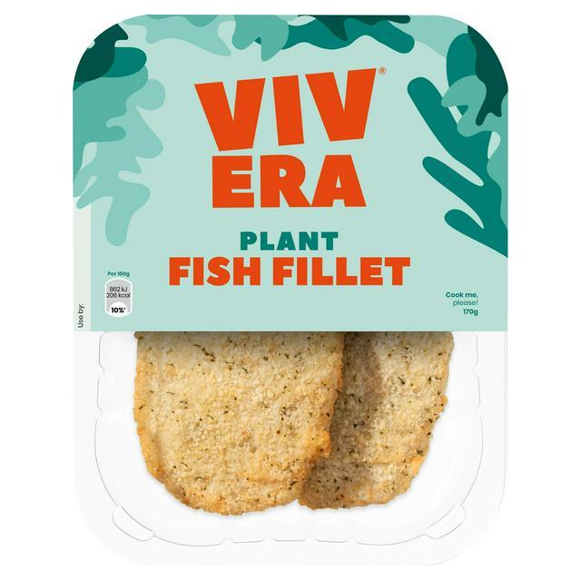 Vivera vegan fish fillet