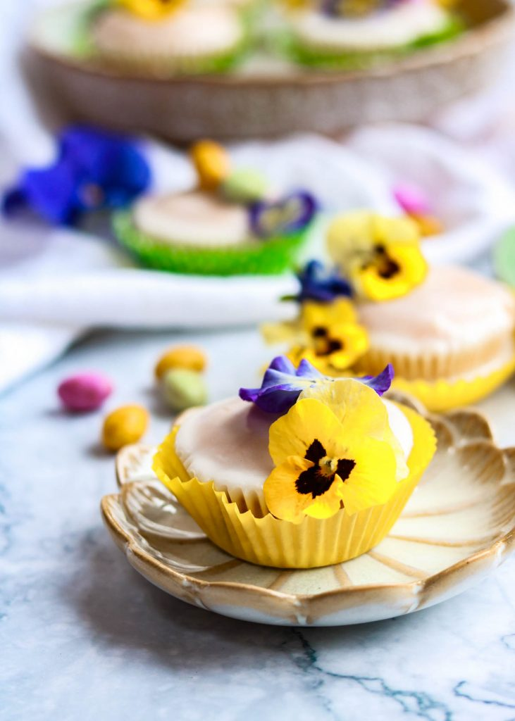 Lovely Lemon cupcakes with decorations