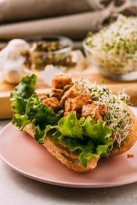 vegan tofu lobster using tofu as vegan fish