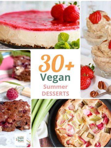 30 Delicious Vegan Summer Desserts