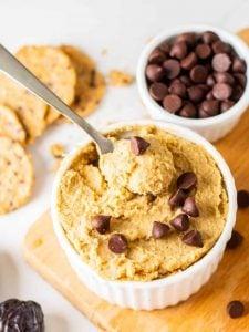 Chickpea Chocolate Chip Cookie Dough Hummus