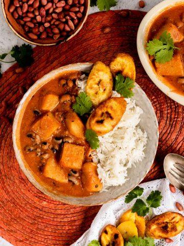 Nigerian Peanut Yam Stew
